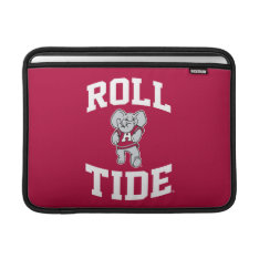 Roll Tide With Big Al Macbook Sleeve at Zazzle