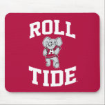 """Roll Tide with Big Al Mouse Pad<br><div class=""""desc"""">Check out these official Alabama Crimson Tide Logo products! Show your Crimson Tide pride by getting your Bama gear here.  These products will allow you to take your Alabama spirit with you wherever you go!</div>"""