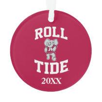 Roll Tide with Big Al Ornament