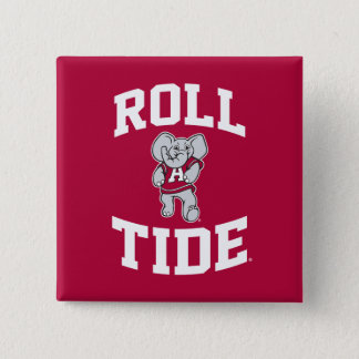 Roll Tide with Big Al Pinback Button