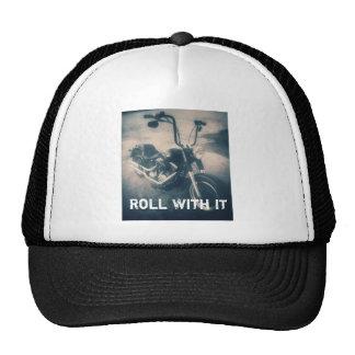 Roll With It Motorcycle Gear Trucker Hat