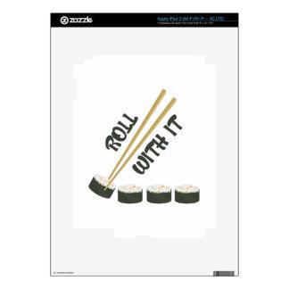 Roll With It iPad 3 Skin