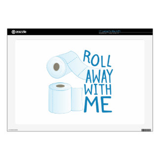 Roll With Me Decals For Laptops