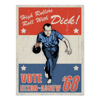 Roll With Nixon Poster