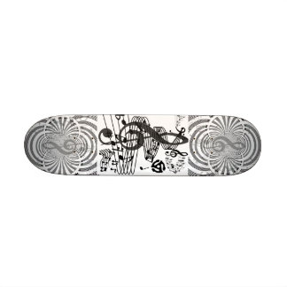 Roll with the beat_ skateboard deck
