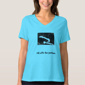 """""""Roll With The Punches"""" Pilates Rollover T-Shirt"""