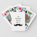 Roll your Stache Poker Deck