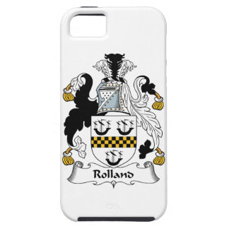 Rolland Family Crest iPhone 5 Cases