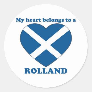 Rolland Classic Round Sticker