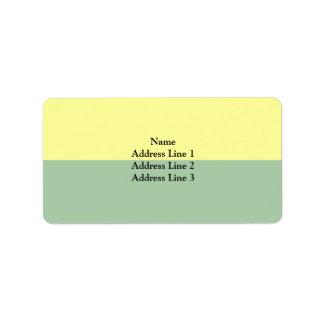 Rolle, Switzerland Address Label