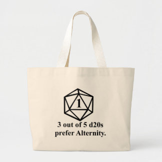 Rolled a 1 large tote bag