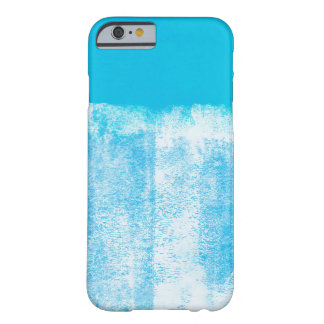 Rolled blue paint iPhone 6 case