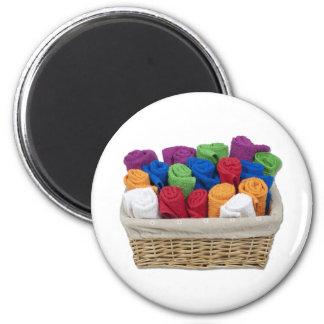 RolledTowelsBasket Magnet