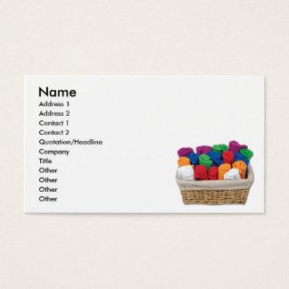RolledTowelsBasket, Name, Address 1, Address 2,... Business Card