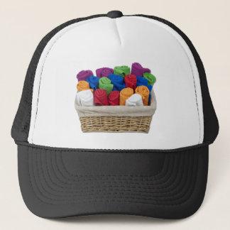 RolledTowelsBasket Trucker Hat