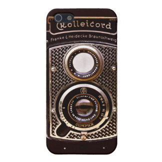 Rolleicord art deco camera case for iPhone SE/5/5s