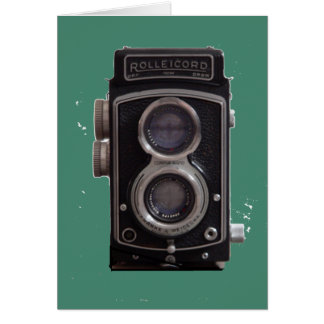 Rolleicord Twin Reflex Camera gift for all Card