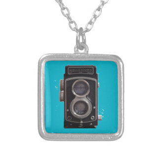Rolleicord Twin Reflex Camera gift for all Silver Plated Necklace