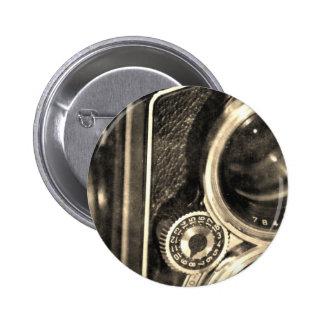 Rolleiflex Camera 2 Inch Round Button