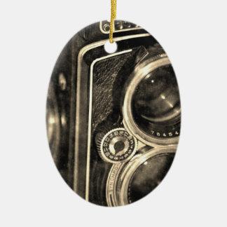 Rolleiflex Camera Ceramic Ornament