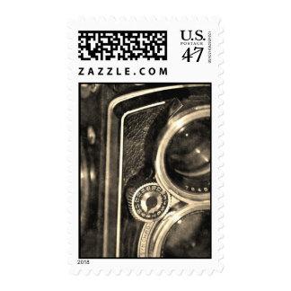 Rolleiflex Camera Postage Stamp