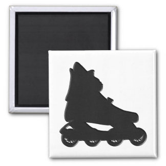 Roller-blade 2 Inch Square Magnet