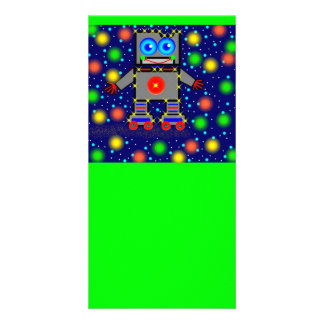 Roller Blading In Space Designed Book Mark Card