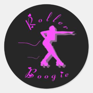 ROLLER BOOGIE CLASSIC ROUND STICKER