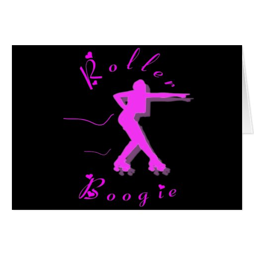 ROLLER BOOGIE GREETING CARDS