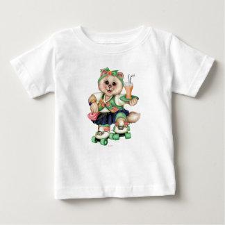 ROLLER CAT CUTE Baby Fine Jersey T-Shirt