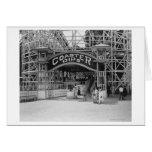 Roller Coaster at Glen Echo Park Photograph Cards