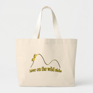 ROLLER COASTER TOTE BAGS