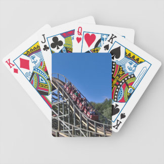Roller Coaster Bicycle Playing Cards
