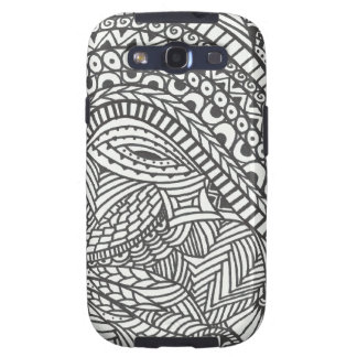 Roller Coaster Black and White Abstract phone case Samsung Galaxy S3 Case