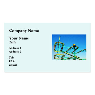 Roller Coaster Business Card