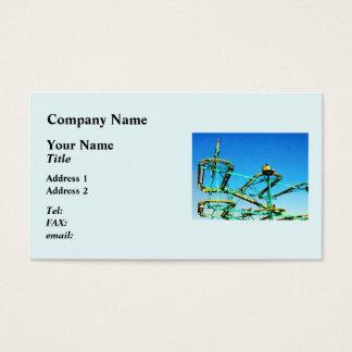 Roller Coaster Business Card