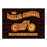 Roller Coaster Card