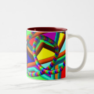 Roller Coaster Ceramic  Mug
