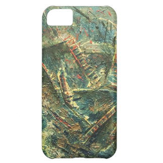 Roller Coaster Dreams Abstract Art iPhone 5C Cover