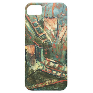 Roller Coaster Dreams Abstract Art iPhone SE/5/5s Case