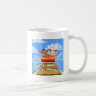 Roller Coaster Fair Theme Park Coffee Mug