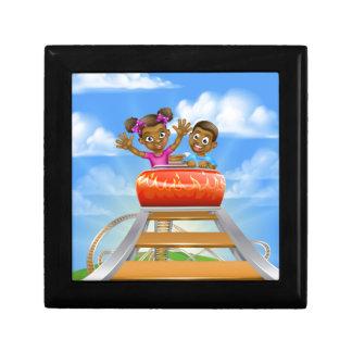Roller Coaster Fair Theme Park Gift Box