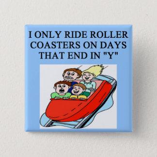 roller coaster fanatic button
