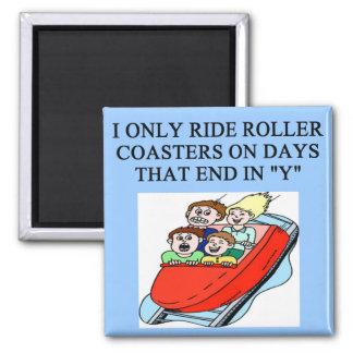 roller coaster fanatic magnet
