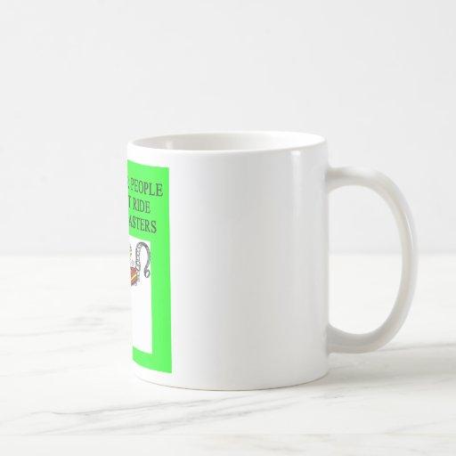 roller coaster fanatic mugs