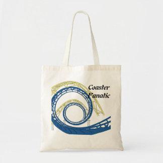 Roller Coaster Fanatic Tote Bag
