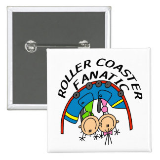 Roller Coaster Fanatic Tshirts and Gifts Pins