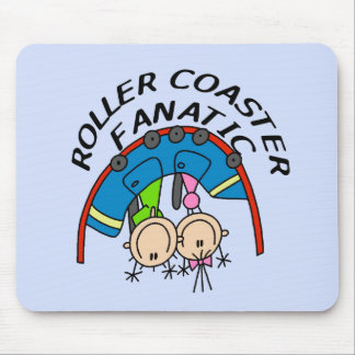 Roller Coaster Fanatic Tshirts and Gifts Mouse Pad