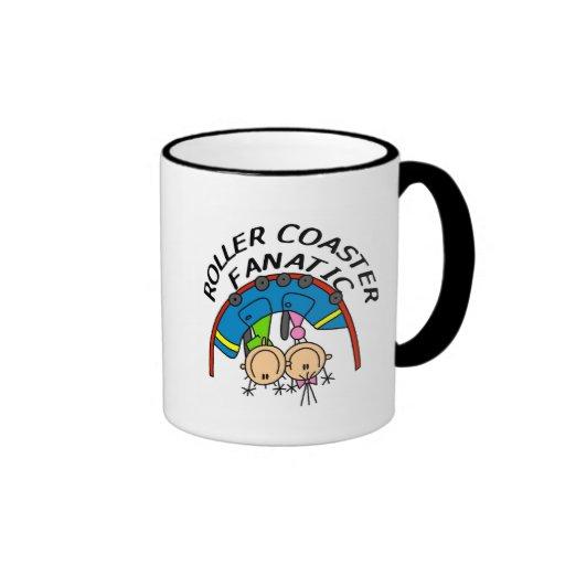 Roller Coaster Fanatic Tshirts and Gifts Coffee Mug
