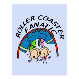 Roller Coaster Fanatic Tshirts and Gifts Post Card